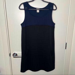 🎁4/20$🎁 navy & black overall dress